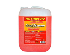 Антифриз Coolstream Optima Red (красный) 10кг
