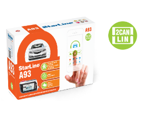 Сигнализация STAR LINE A93 2CAN+2LIN