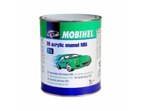 122 синий тонер Mobihel MIX 2К акрил 1л/в кор.6