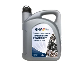 Масло трансм. п/синт GNV Transmission Power Shift 75W-90 GL-4/5  4л