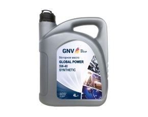 Масло моторное синт. GNV Global Power 5W-40 Synthetic A3/B4, SN/CF   4л