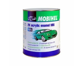 118 белая Mobihel MIX 2К акрил 3,5л./в кор.3