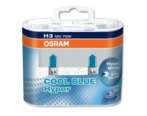 H3 (70) PK22s COOL BLUE HYPER+off road 12V OSRAM