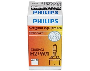 H27W/1 №880 PG13 HALOGEN 12V PHILIPS /1/10 Автолампа
