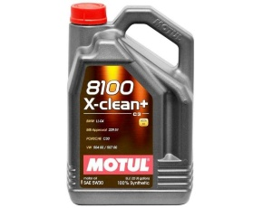 Масло моторное синт. MOTUL 8100 X-Clean Plus 5W30 5л