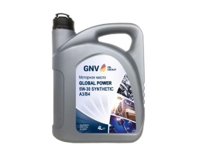 Масло моторное синт. GNV Global Power 5W-30 Synthetic A3/B4, SN/CF  4л